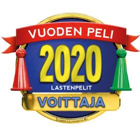 Vuoden Peli 2020 Lastenpelit voittaja logo