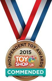 Toy Shop UK 2015 Bronz Commended Medal