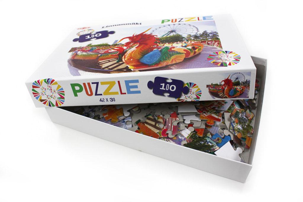 Boxed Puzzle: Linnanmäki