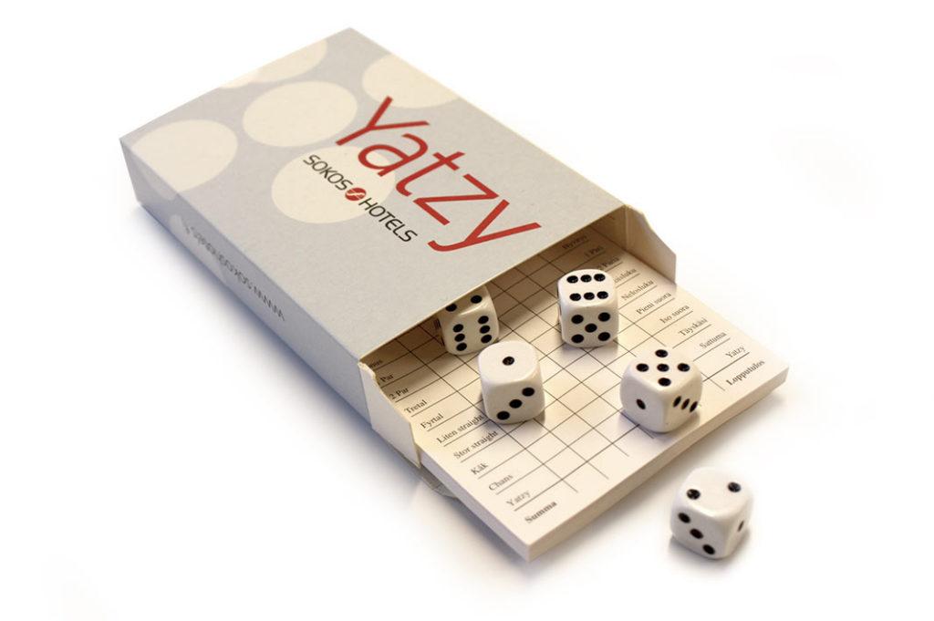 Give away-Yatzy: Sokos Hotels