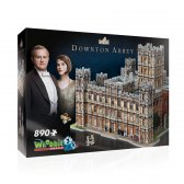 Wrebbit 3D puzzle Downtown Abbey 890 el