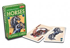 Playing Cards Horses