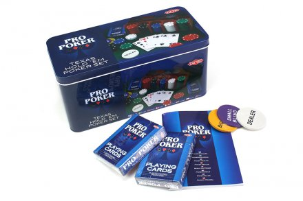 Texas Hold´em Pokerisetti metallirasiassa