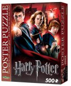 Wrebbit Poster Puzzle - Harry Potter Hogwarts school