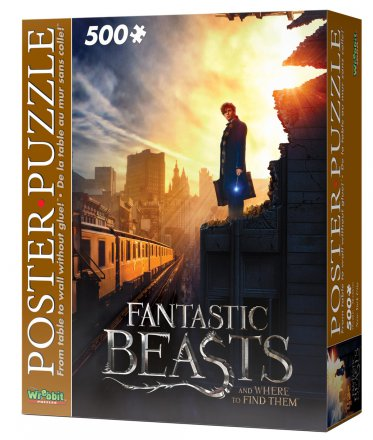 Wrebbit Poster puzzle - Fantastic Beasts - New York City