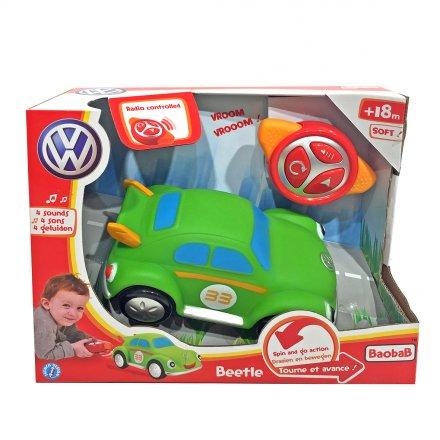 Motortown RC Soft Green VW Beetle