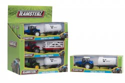Teamsterz Country Life Die-Cast Tractor and Trailer