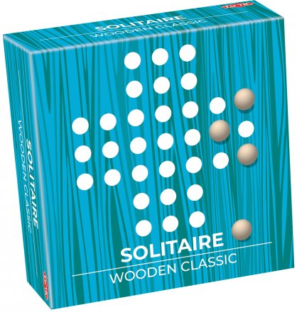 Solitaire – Wooden Classic