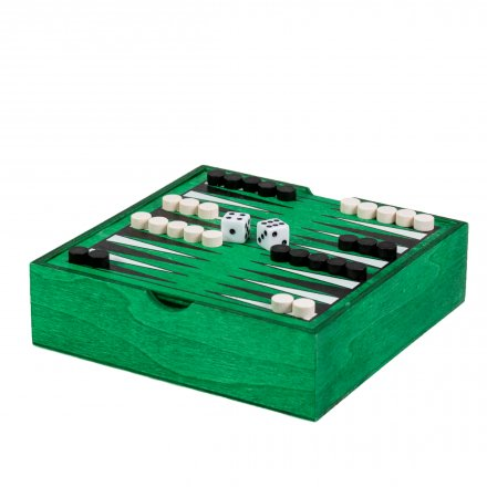Backgammon en bois