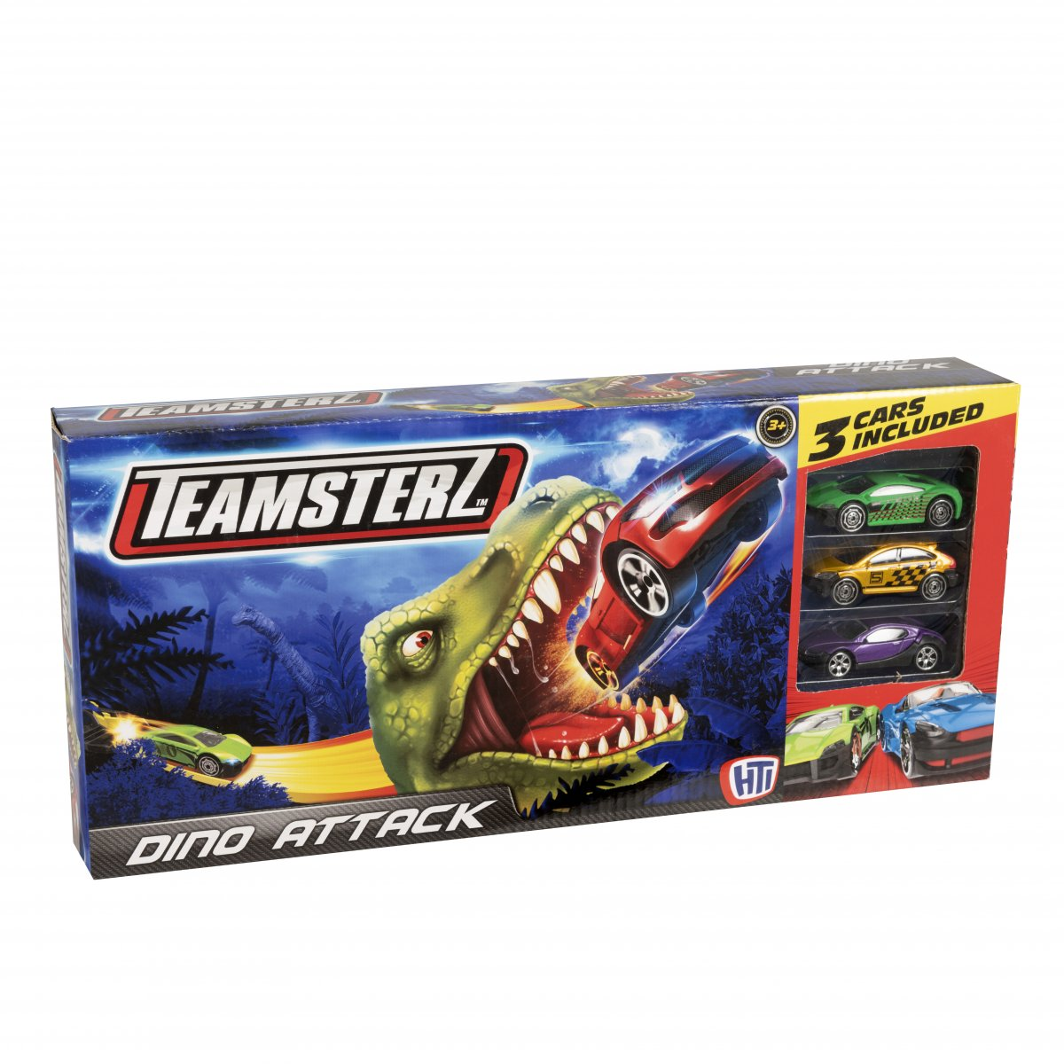 Dino Attack Track Set with 3 cars