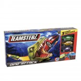 Teamsterz Dino Attack Track Set with 3 cars