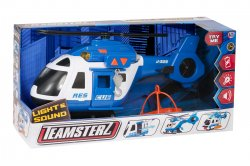 Teamsterz Rescue Helicopter Light and Sound Large pelastusheliko