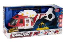Teamsterz Fire Helicopter Light and Sound Large pelastushelikopt