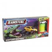 Teamsterz Gator Gunge Track Set with 1 car and 1 slime pot