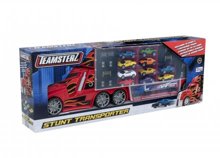 Stunt Transporter with 10 cars