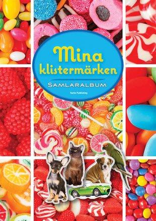 Mina klistermärken samlaralbum godis och djur
