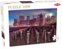 Skyscrapers in New York Puzzle 1000 elementów