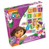 Dora 3 in 1 Lotto/Domino/Memo