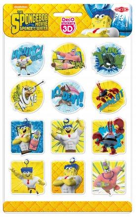 Deco Stickers 3D: Sponge Bob