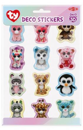 Ty Beanie Boo Deco 3D Stickers  462d5f2ec25
