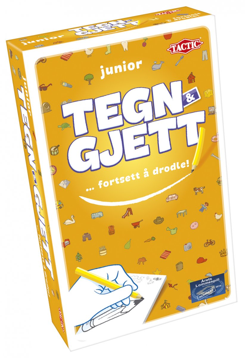 Tegn & Gjett Junior travel