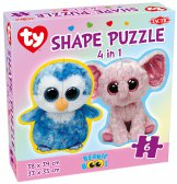 Ty Beanie Boo's Shape Puzzle 4 in 1