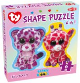 Ty Beanie Boo Shape puzzle 4 in 1