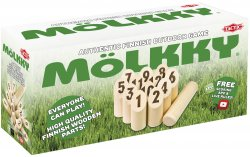 Mölkky in cardboardbox