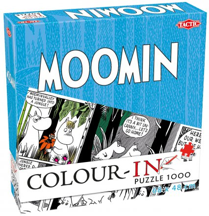 Colour-In Puzzles 1000 pcs Moomin