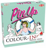 Colour-In Puzzle Pin-Up 1000 stukjes