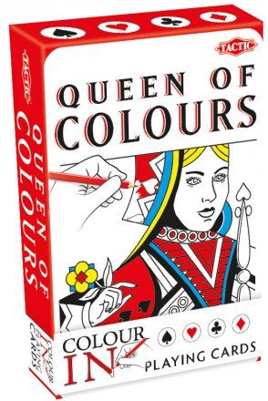Colour-In Playing Cards Classic
