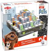 Secret Life of Pets Snakes & Ladders 3D