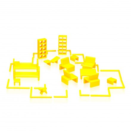 Big Mini Home Yellow by Eero Aarnio