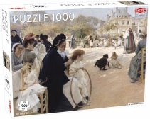 Luxembourg Gardens puzzle 1000 pcs