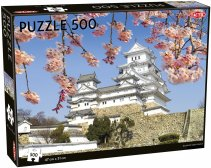 White Egret Castle puzzle 500 pcs