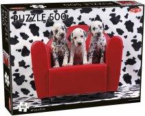 Dalmatian Puppies palapeli 500 palaa