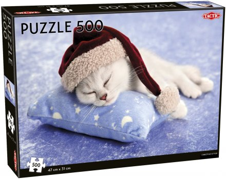 Christmas Kitten puzzle 500 pcs