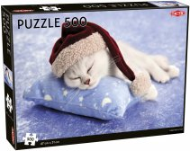 Christmas Kitten palapeli 500 palaa