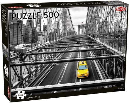 Yellow Cab puzzle 500 pcs