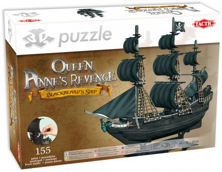 3D Puzzle The Queen Anne's Revenge
