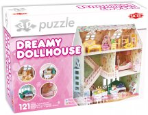 3D Puzzle Dreamy Dollhouse
