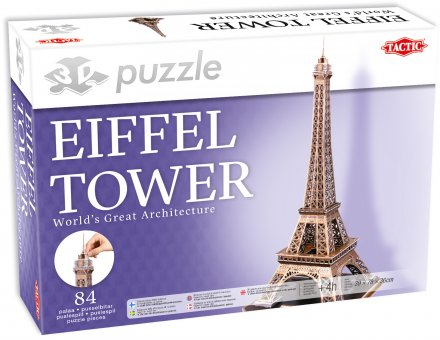 3D Palapeli Eiffel Tower