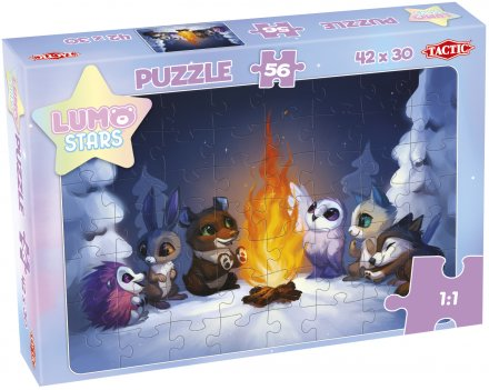 Lumo Stars 56 pcs puzzle collection 3x2 motives