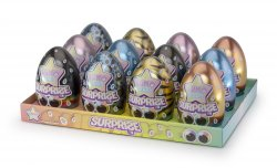 Lumo Stars Collectible Surprise Egg assortment  2 - 12,5 cm -  12 stuks - Display