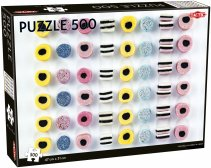 Puslespill 500 Liquorice Allsorts in a row