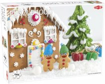 Christmas Gingerbread House - 1000 stukjes