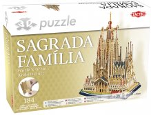 3D Palapeli Sagrada Familia