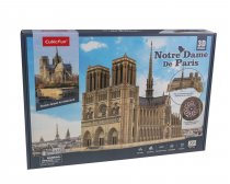 3D Palapeli Notre Dame de Paris Open and See
