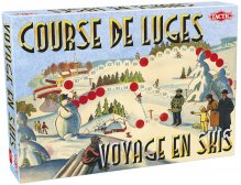 Retro Game: Sledge Race / Skiing Trip (FR)