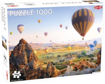 Puslespill 1000 Hot Air Balloons